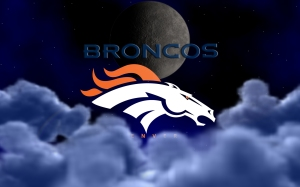 Denver Broncos Above The Clouds Wallpaper  1920 x 1200