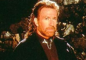 Chuck Norris Mullet 2